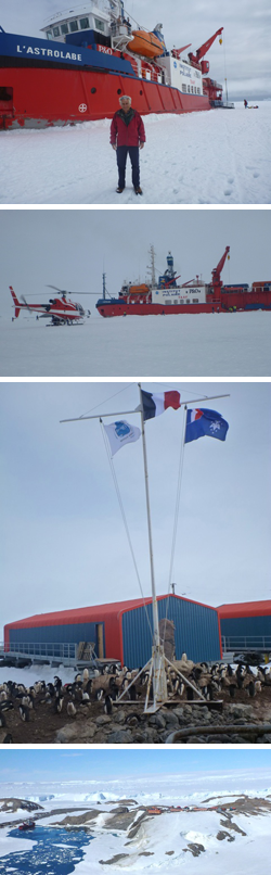 Alain Royer and Ghislain Picard return from a field trip in Antarctica after 2.5 months of the austral summer (in french only)