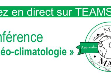 Midi-MAP : Conférence «paléo-climatologie» ce jeudi